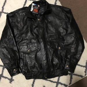Jackets & Coats - Genuine leather jacket NWT